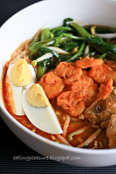Little Inbox Recipe Eating Pleasure Penang Hokkien Mee Spicy Prawn Noodle