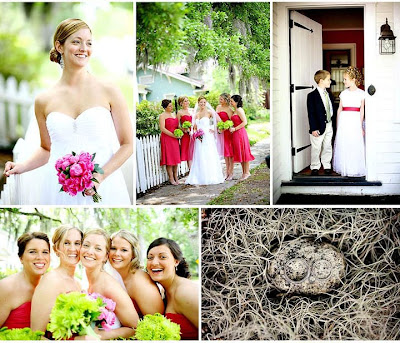 Southern Wedding Magazine just featured another of our weddings