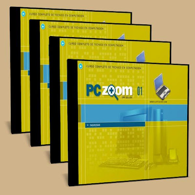 how to zoom in on a pc. PC Zoom - Curso de reparacion de PC (4CDrom)