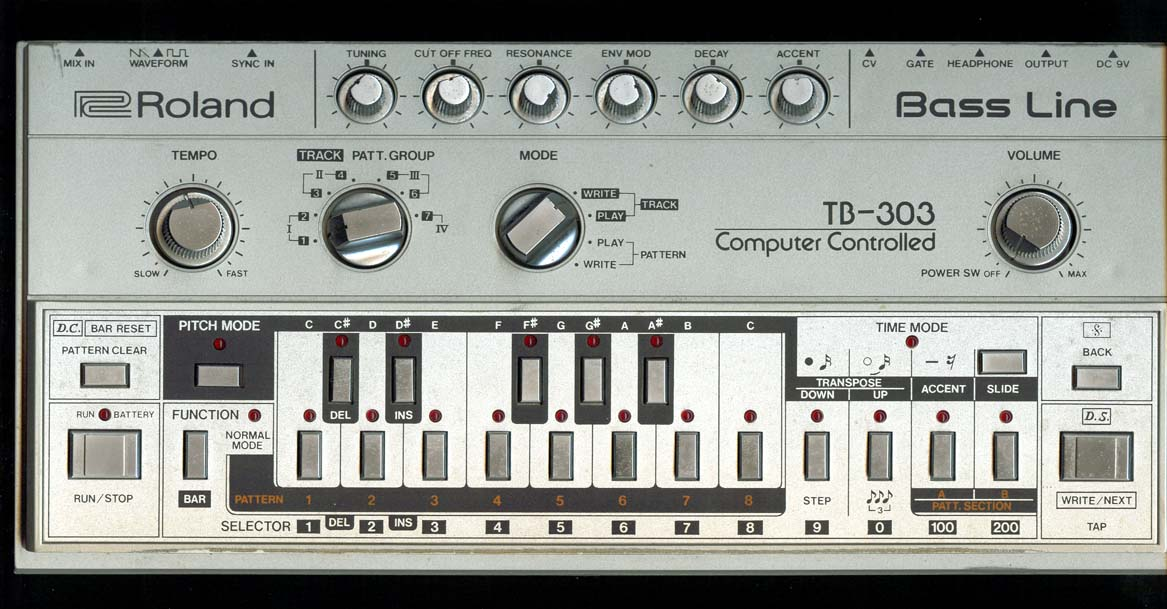 The history of acid house roland tb 303 bass line for What is acid house music