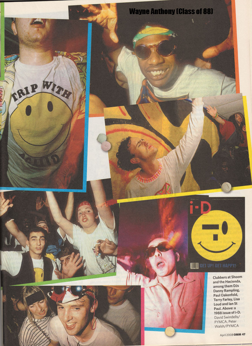 The history of acid house observer magazine second for Acid house 1988