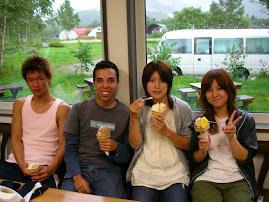 Hokkaido is famous for ice cream