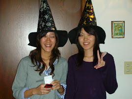 Witches in casual wear