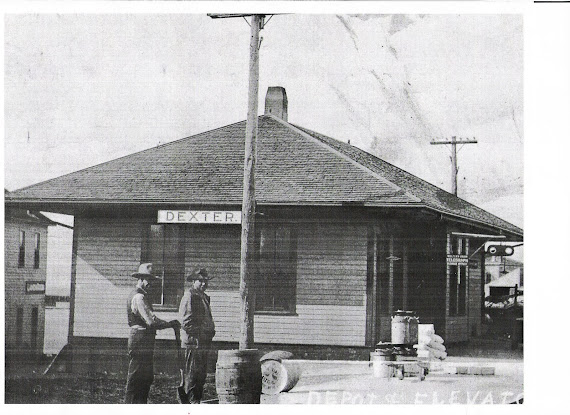 Dexter Train Depot & Unknown Bldg.