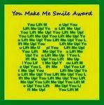 You make me smile award
