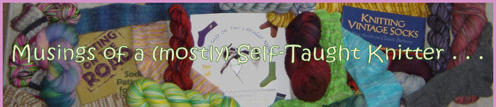 Musings of a (mostly) Self-Taught Knitter