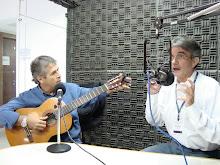 Gravação do programa Conversa Afinada - Rádio Paraná Educativa FM