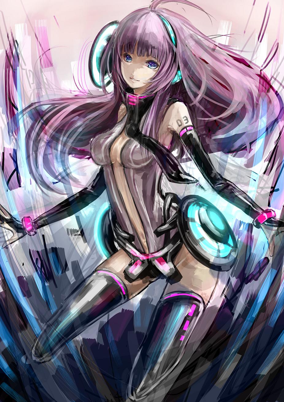 Vocaloid Meiko Figure Ichigo's Cyber W...