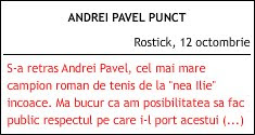 Andrei Pavel Punct