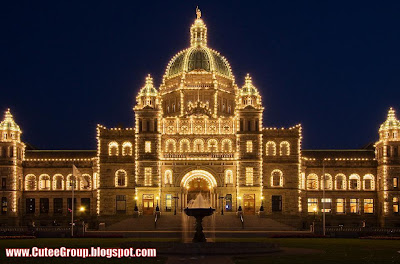 Parliament in Victoria-Vancouver  (Canada)