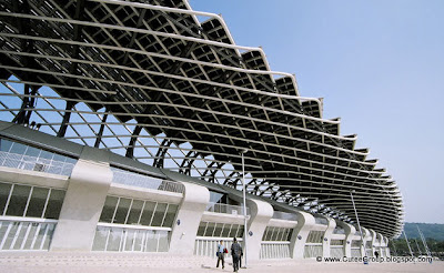WORLD'S FIRST SOLAR POWERED STADIUM IN TAIWAN