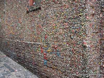 The Seattle Bubble Gum WallThe Seattle Bubble Gum Wall
