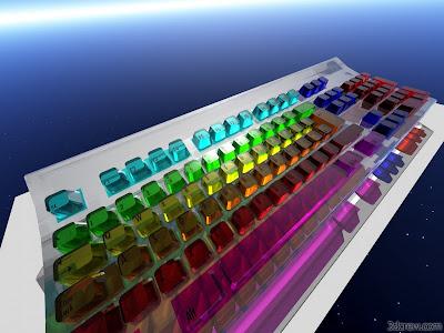 Crystel Computre Key Bord