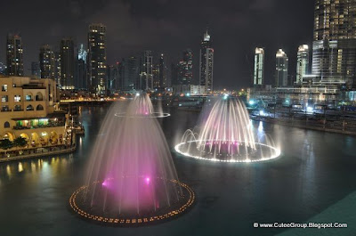 Amazing Water Fountain