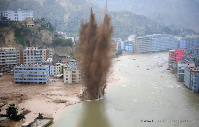 Landslide Strike Zhouqu (China)