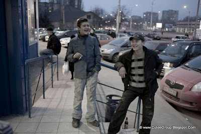Ukrainian Drug Addict