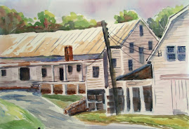 Graves Apple Barns...watercolor