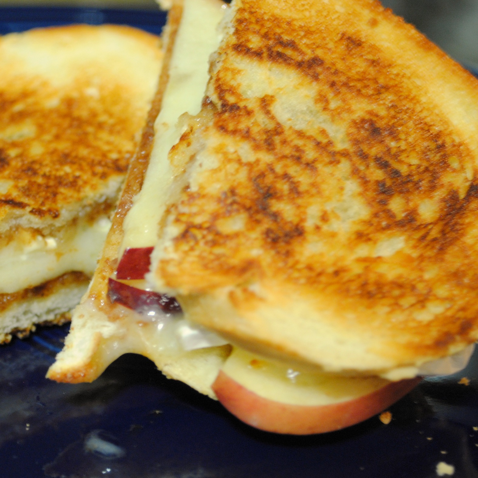Homemade By Holman Apple And Brie Melts