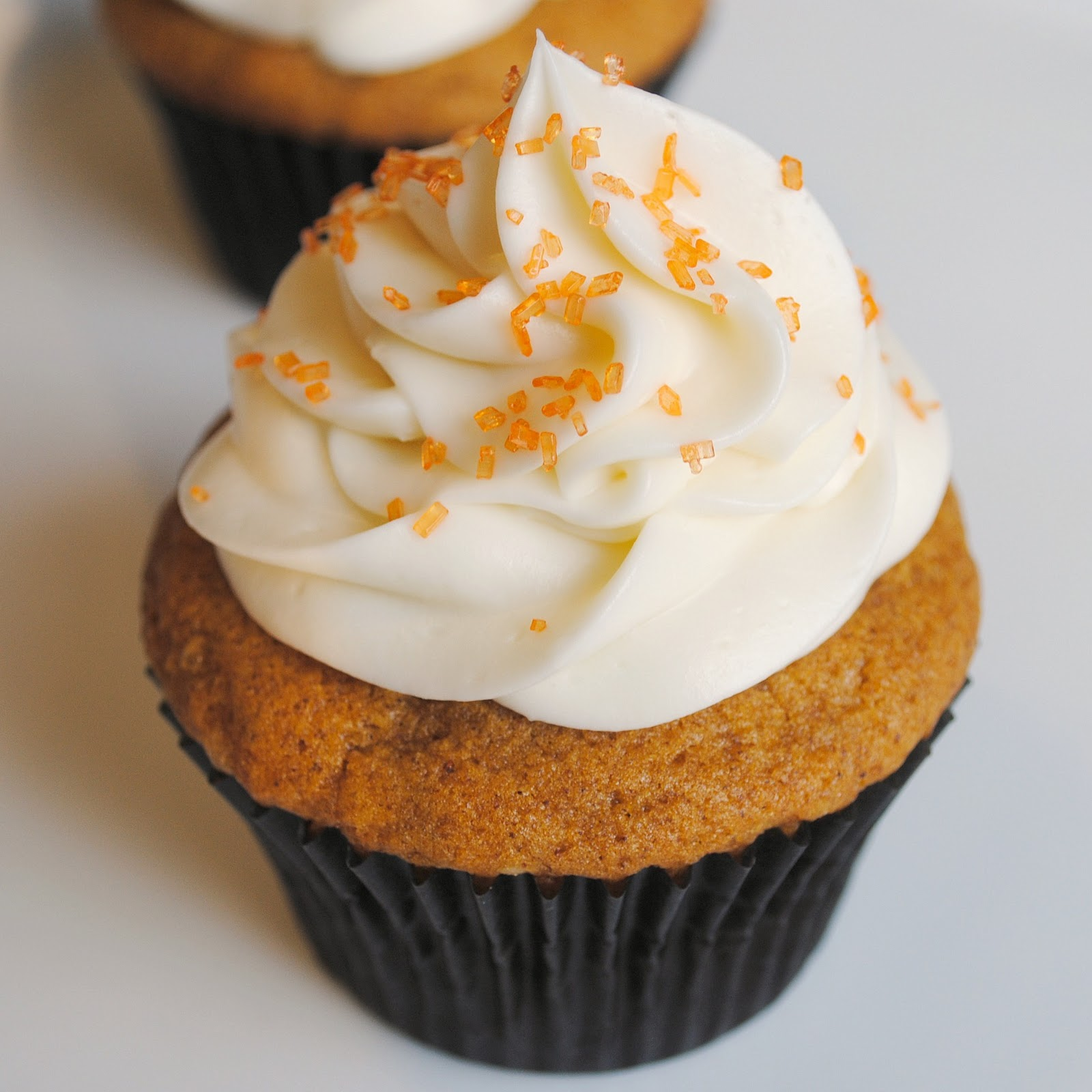 Homemade By Holman: A Fall Favorite: Pumpkin Cupcakes