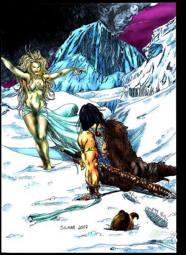 a filha do gigante de gelo