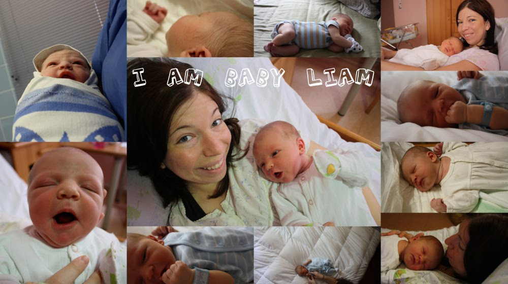 I am baby Liam