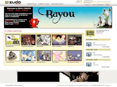 Web de Zuda Comics