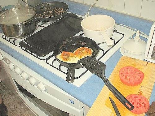 Como quitar manchas de grasa de la cocina - Como se quitan las manchas de aceite ...