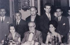 En 1959 con el Maestro Andrés Segovia