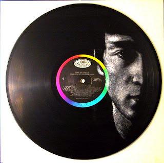 John Lennon on The Beatles' White Album - (i) inspired by photo by Astrid Kirchherr