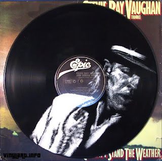 Stevie Ray Vaughan - (i) inspired by photo by John T. Comerford III