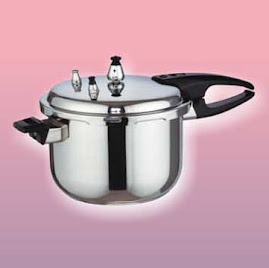 STAINLESS STEEL PRESSOR COOKER AVAILABLE 4LTR AND 5LRT