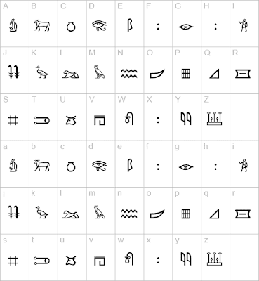 Egyptian+hieroglyphics+numbers+chart