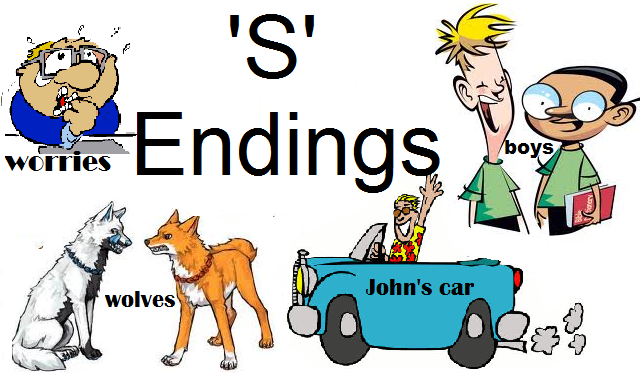 All Things Relevant To Learning English S Endings In