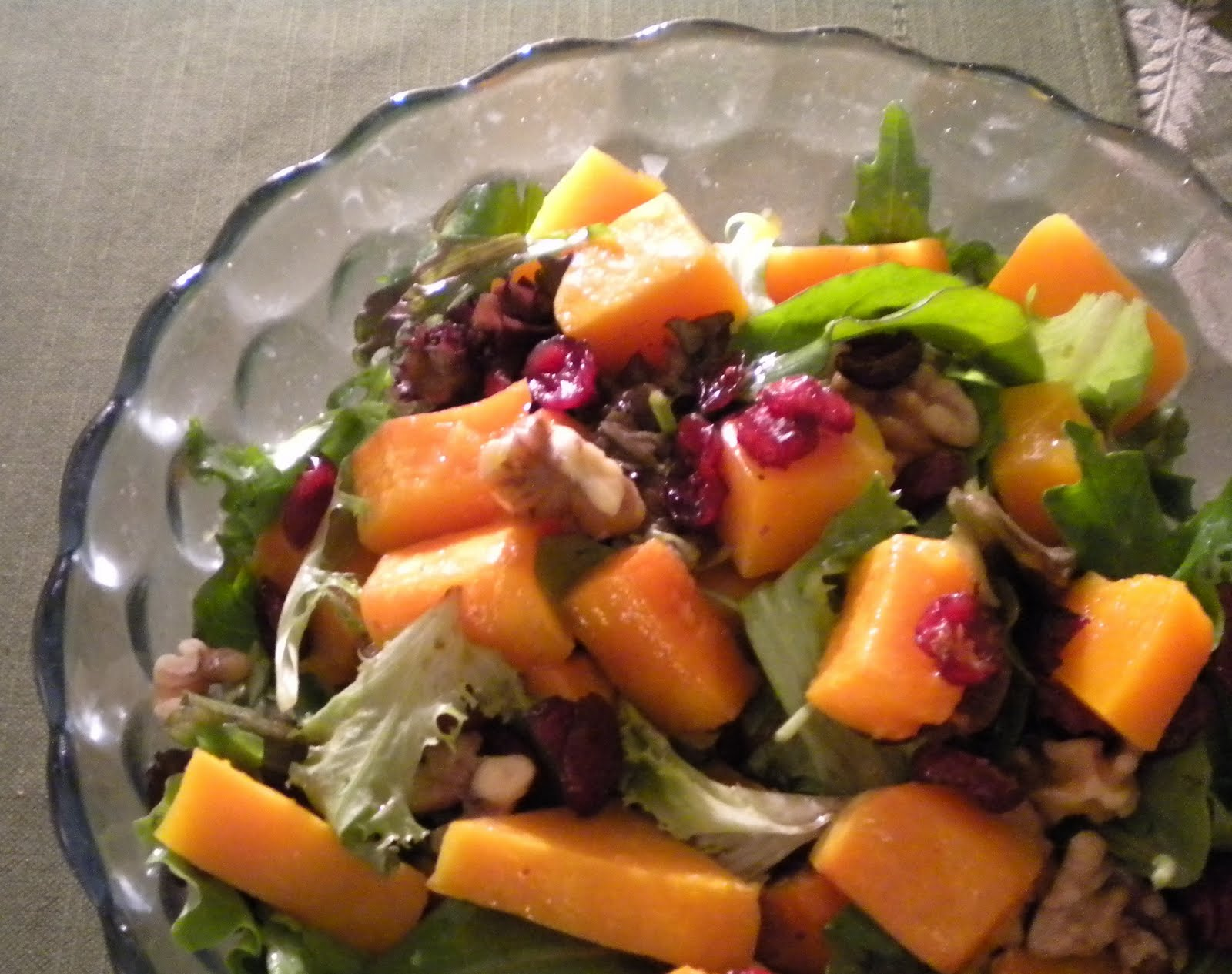 maple roasted butternut squash apple salad roasted butternut squash ...