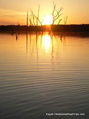 Oklahoma Lake Paddling