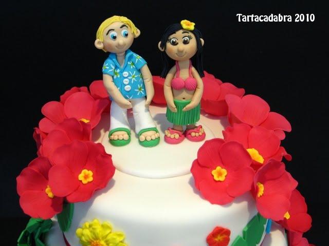 Matrimonio Tema Hawaiano : Tortas decoradas al estilo hawaiano imagui