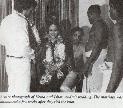 hemamalini weds dharmendra