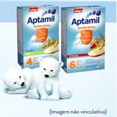 Amostra Gratis Farinha Aptamil