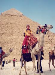 Penulis semasa menuntut di Mesir..