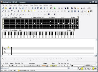 Free Aplikasi | Software Guitar Download Guitar Pro 4.0.8 Free