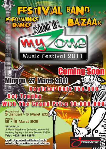 Event: SOUND OF MY ZONE 2011