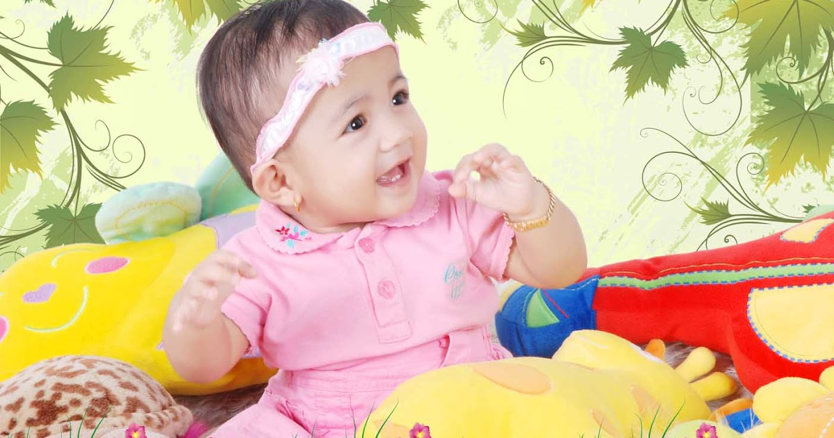Contoh Editan Foto Bayi | Blog azis Grafis