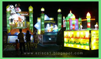 Tradisi Tanglong pada Malam 21 Ramadhan - Malam Selikuran di Banjarmasin