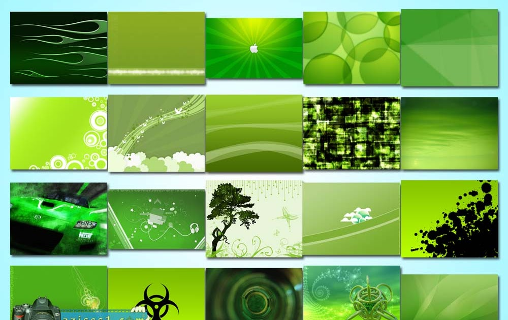 kumpulan wallpaper bertema hijau green wallpapers blog