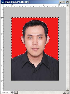 Change background colour with photoshop