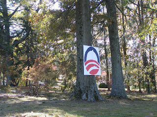Weathered Obama Sign