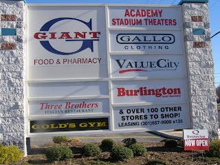 Beltway Plaza Sign