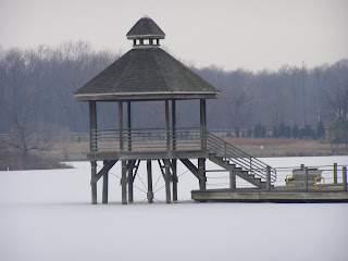 The Pavilion at Lake Artemesia on Ice