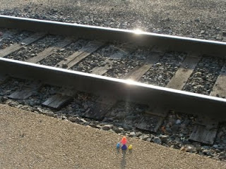 sunshine on the tracks