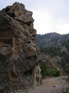 rock at the end of the trail